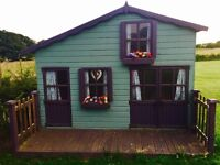 Childrens Two Storey Playhouse 10ft x 7ft