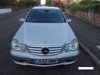 Mercedes C32 AMG 2002 Petrol Automatic £3500 for sale  Southside, Glasgow