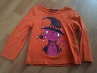 Halloween T Shirt - 2-3 Years