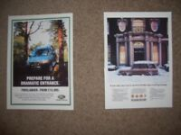 2 Land Rover and Range Rover Postcards