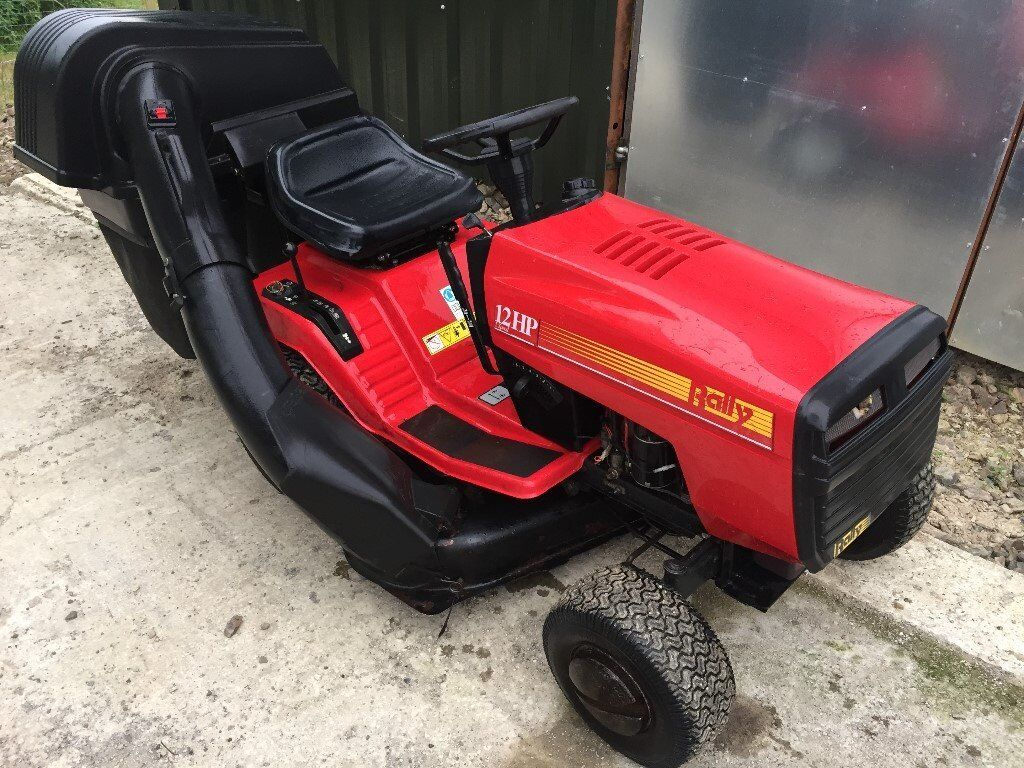 Rally Ride On Lawn Mower Garden Tractor With Collector