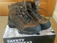 Dickies Safety Boots size 6