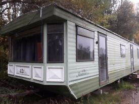 Abi montrose 34, 3 bed caravan in need of a good clean and some work to make it livable again.
