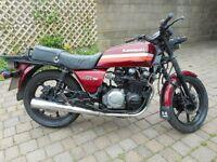 Kawasaki KZ750 classic shaft drive running project or trike etc