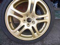Subaru Impreza WRX Wheel & Tyre