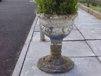 For Sale Concrete Garden Pedestal
