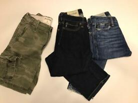 Abercrombie & Fitch jeans & shorts age 8