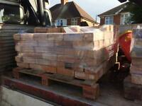 """Leicester reclaims Imperial Bricks measure 9""""x4.5""""x3"""""""