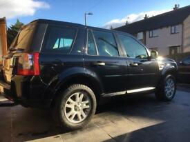 Land Rover freelander 2 2.2 diesel 140k fsh rare 6 speed manual
