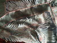Liberty of London Vintage Peacock Feather Scarf