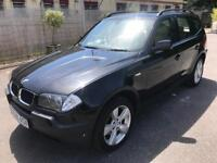 STUNNING 2006 BMW X3 SPORT 2.0D, DRIVES SUPERB,LOW MILES 90000,FULL CREAM LEATHER,CRUISE CONTROL,