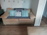 Good condition 2 sofas and 1 chair