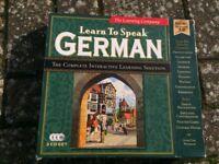 learn to speak german audio tape