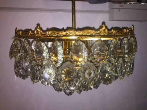 Kronleuchter Kristall Günstig ~ Kronleuchter kristall lüster antik in bayern augsburg lampen