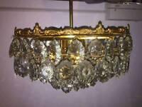 Kronleuchter Breit Kristall ~ Kristall kronleuchter lampen gebraucht kaufen in augsburg ebay