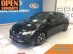 2013 Honda Civic Si! NAVI! SUNROOF! FINANCE NOW!