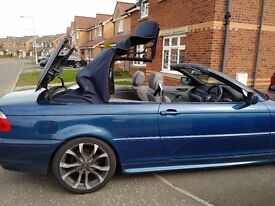 BMW 3 SERIES M SPORT CONVERTIBLE LOW MILES LONG MOT LEATHER INTERIOR (PX P/X PART EXCHANGE WELCOME)