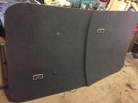 Vw T5 transporter genuine interior roof panels