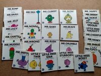 29 Mr Men and Little Miss Books - good condition