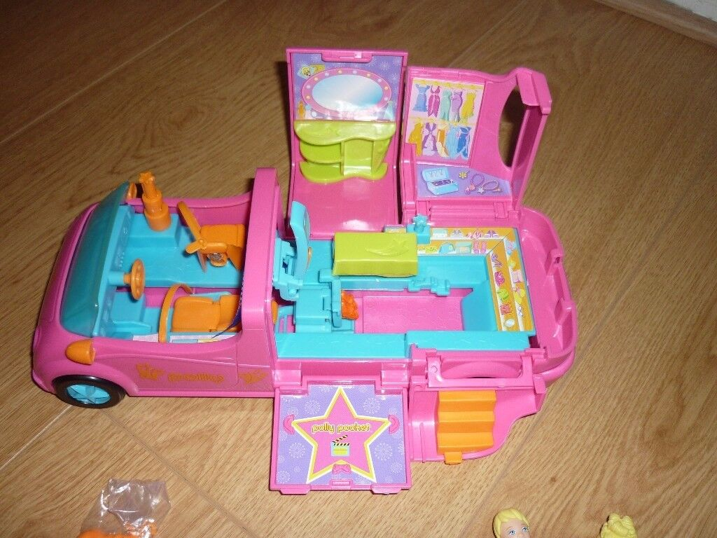 Polly Pocket Quick-Clik Limo For Sale