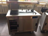 Hotplate x3 and cupboard £230