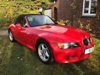 bmw z3 hellrot red