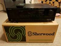 Sherwood AV amplifier black