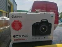 Canon 750D with extras!