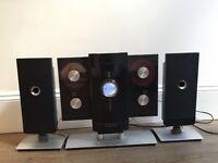 iLuv HIFI audio system with iPod/iPhone Dock, Radio & 4 CD drives