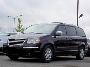 Chrysler Town & Country Limited 2008 CUIR GPS DVD