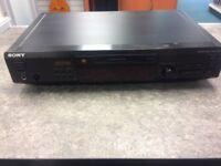 Sony Minidisc Player MDS-520 (EJECT BUTTON STICKS A BIT)