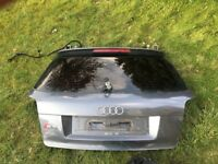 AUDI S3 8P 2007 BOOT TAILGATE GENUINE PART WITH TINTED REAR WINDSCREEN