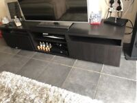 Black\brown tv unit