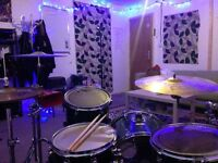 Professional & engaging drum lessons with a qualified female tutor - all ages, styles and abilities