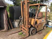 Old climax forktruck
