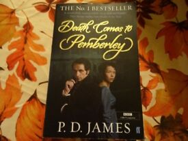 P.D. James - Paper back - Death Comes To Pemberley - Perfect Condition