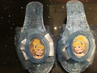 Disney Princess shoes in various colours .