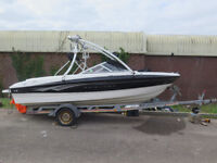 Bayliner 185 Bow Rider 2008, Speed Boat, monster tower, trailer and bmini cover and storage covers