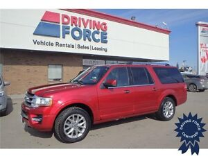 2016 Ford Expedition Max Limited 4x4 - 26,016 KMs, 8 Passenger