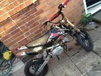 125 pitbike with 26mm carb