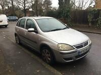 VAUXHALL CORSA SXI 2004 1.2 58k SILVER 5 DOOR SILVER ALLOYS DRIVES GOOD