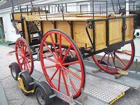 Horse wagon 4 wheel circa 1920 rebuilt & renovated 2016. Swap/Sell?