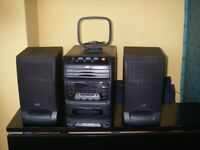 JVC UX-C30 CD Radio and Casette player