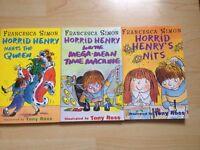 Job Lot of Horrid Henry Books