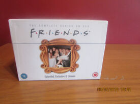 COMPLETE SERIES OF FRIENDS ON DVD