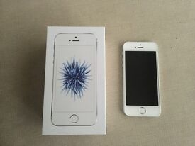 Apple iPhone SE 64GB Silver - Unlocked (5 month warranty remaining)