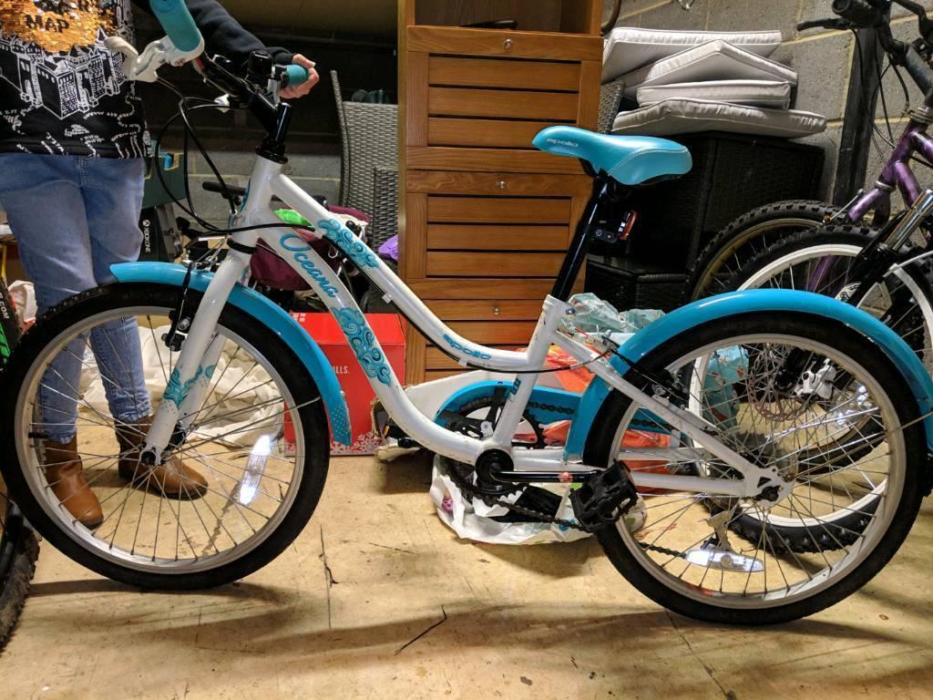 Girls Bike Aqua Green In Newton Aycliffe County Durham Gumtree