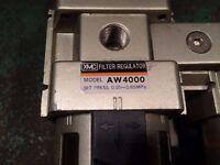 Pneumatic Air Pressure Regulator and Lubricator