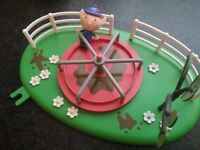Ben & Holly's Little Kingdom Magical Playground Play set Swing Roundabout