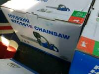 Hyundai 16 and 20 inch chainsaws